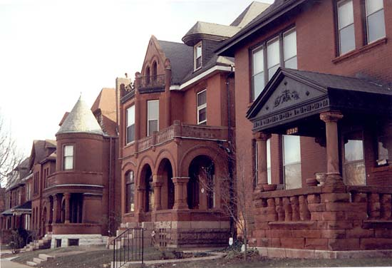 Red Brick Apartments In St Louis